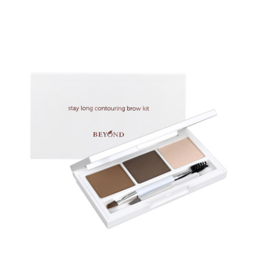 BEYOND  STAY LONG COLORING BROWCARA 01 CHOCO BROWN