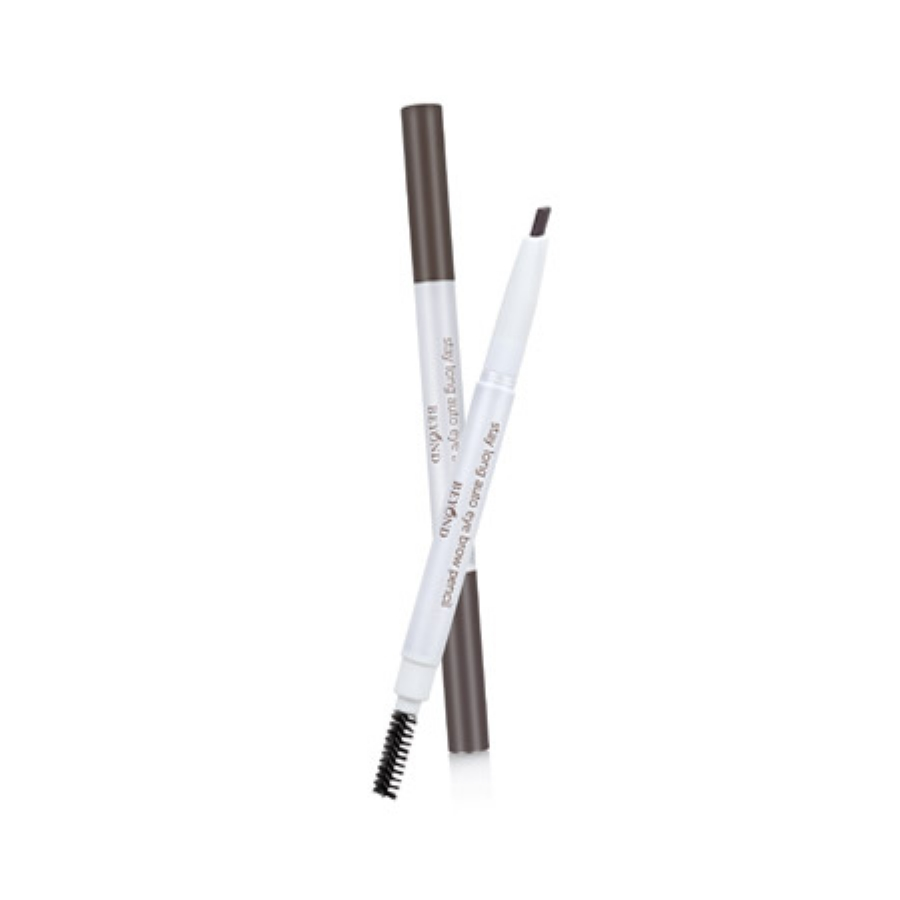 BEYOND STAY LONG AUTO EYE BROW PENCİL 02 BROWN GRA