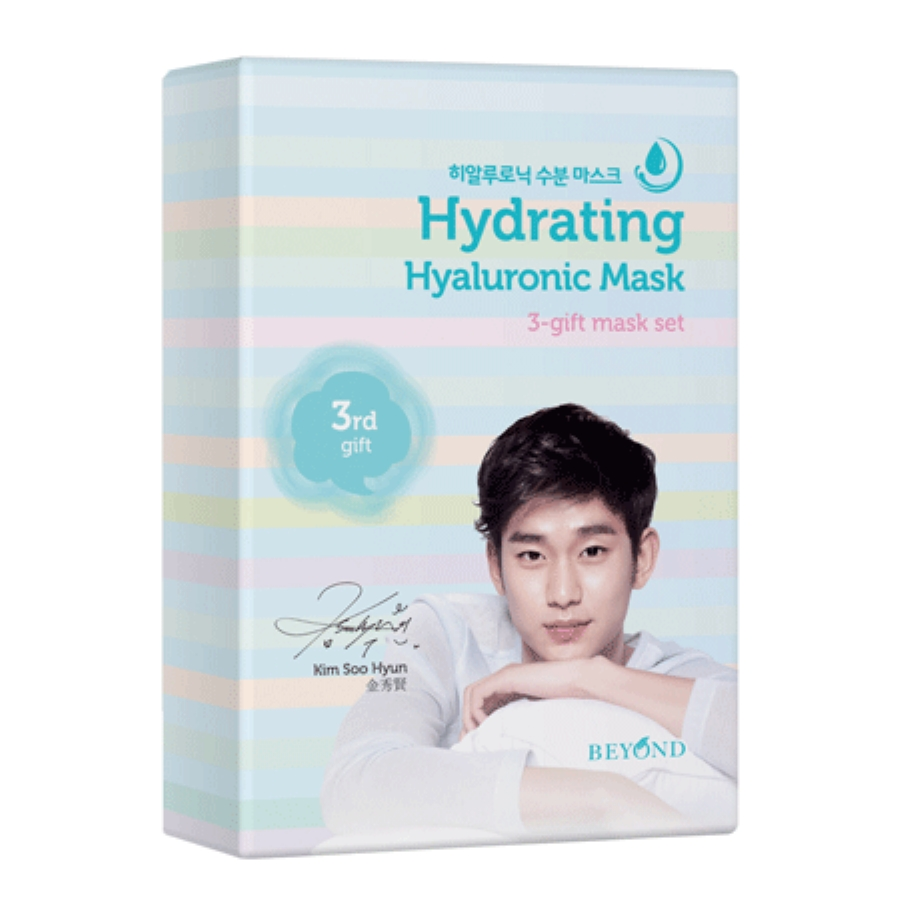 BEYOND 3-gift Mask Hydrayting Hyaluronic Mask