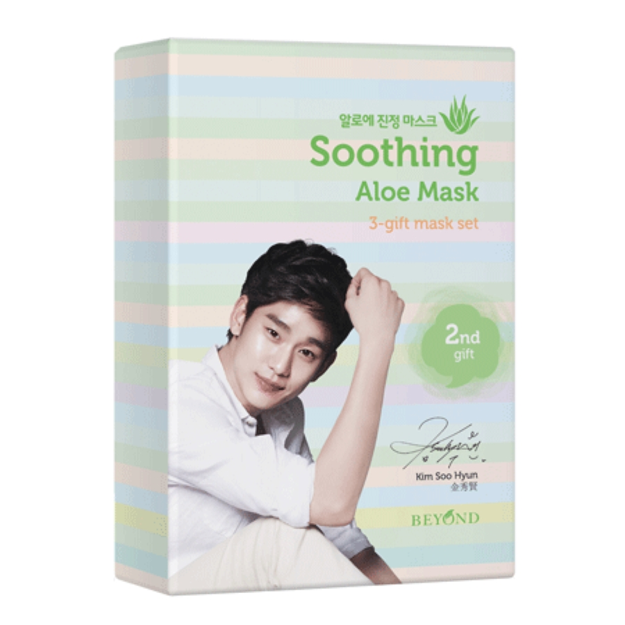 BEYOND 3-gift Mask Soothing Aloe Mask