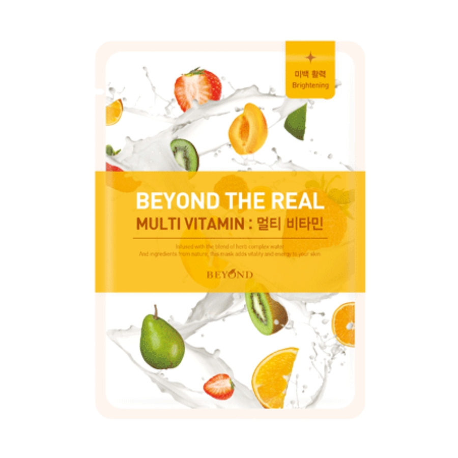 Beyond The Real Muti Vitamin Mask